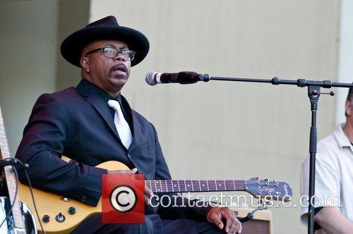 Reverend K. M. Williams Chicago Blues Festival 2012...