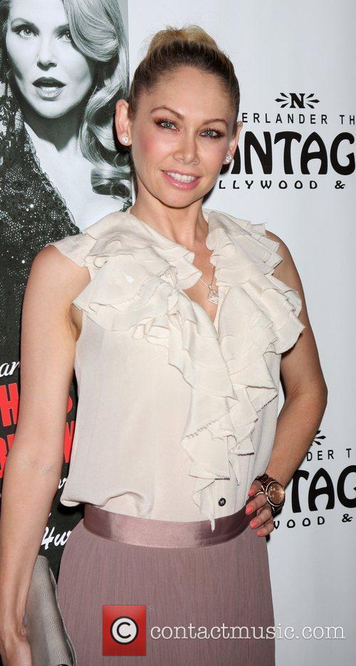 Kym Johnson Opening Night of the Play 'Chicago'...