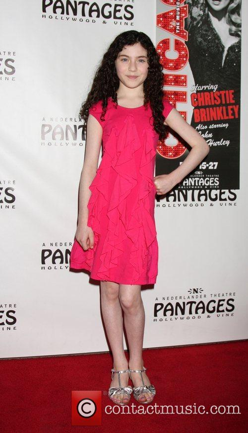 Lilla Crawford Opening Night of the Play 'Chicago'...