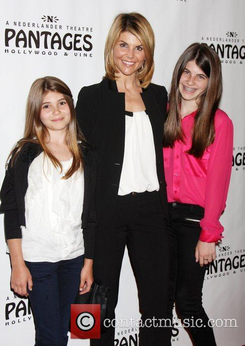 Lori Loughlin and her daughters  Opening Night...