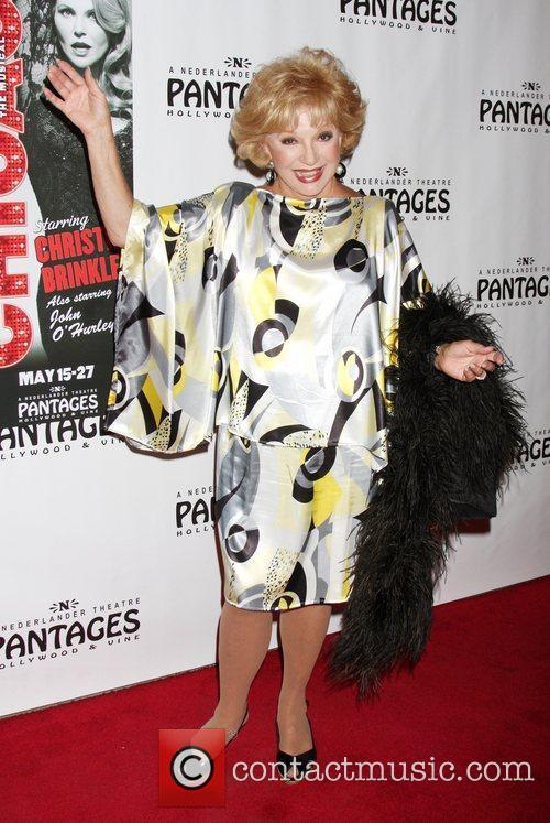 Ruta Lee Opening Night of the Play 'Chicago'...
