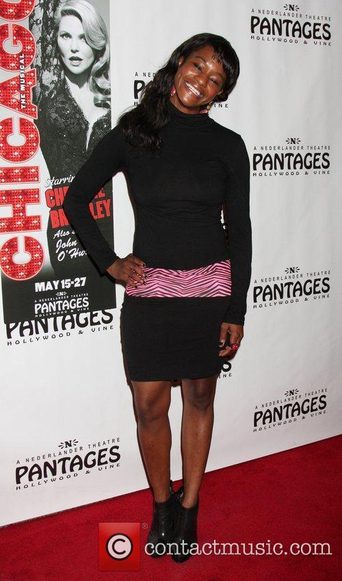 Sufe Bradshaw Opening Night of the Play 'Chicago'...