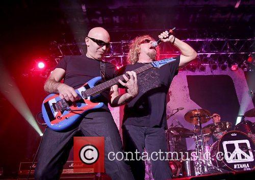 Joe Satriani and Sammy Hagar 7