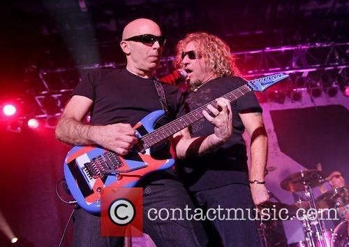 Joe Satriani and Sammy Hagar 2