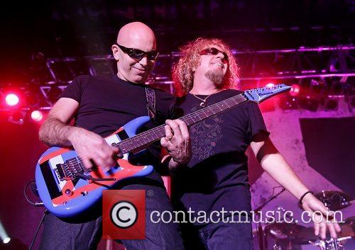 Joe Satriani and Sammy Hagar 3