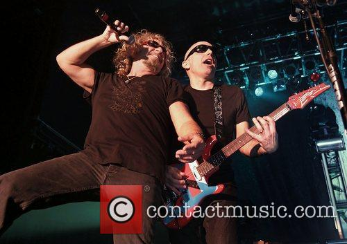 Joe Satriani and Sammy Hagar 5