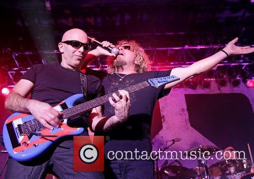 Joe Satriani and Sammy Hagar 6