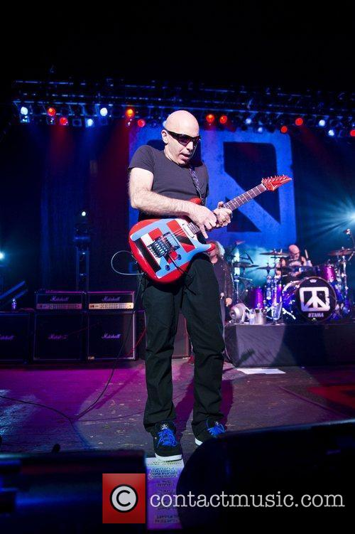 Joe Satriani and Brixton Academy 5