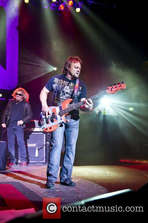 Chickenfoot performing live at Brixton Academy in London