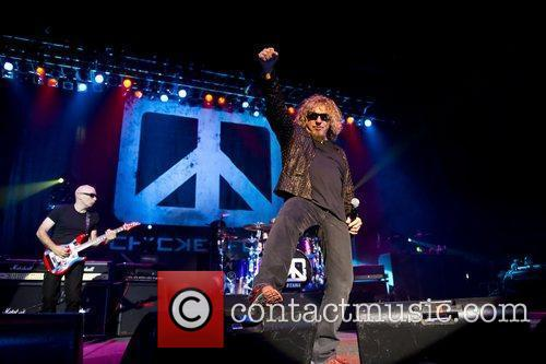 Sammy Hagar, Joe Satriani and Brixton Academy 3