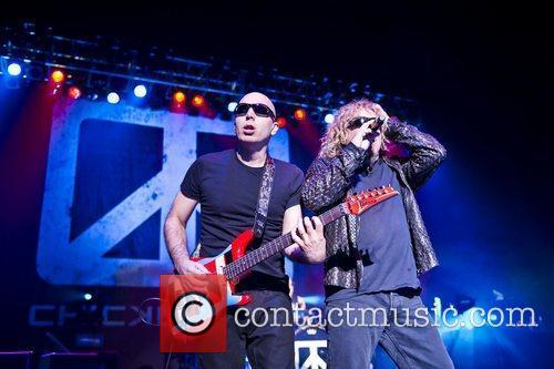 Sammy Hagar, Joe Satriani and Brixton Academy 1