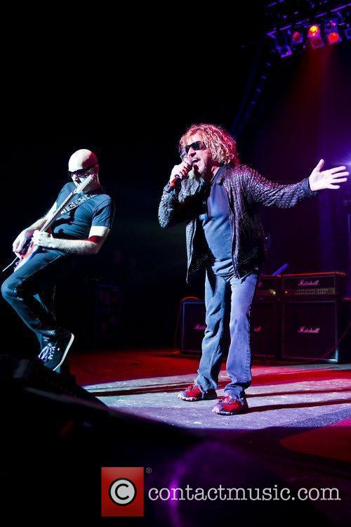 Sammy Hagar, Joe Satriani and Brixton Academy 7