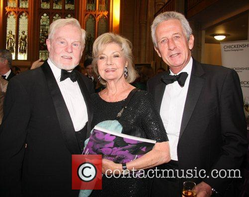 Derek Jacobi, Lady Jane Rayne-, Lacey and Robert Lacey 4