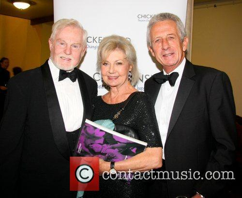 Derek Jacobi, Lady Jane Rayne-, Lacey and Robert Lacey 1