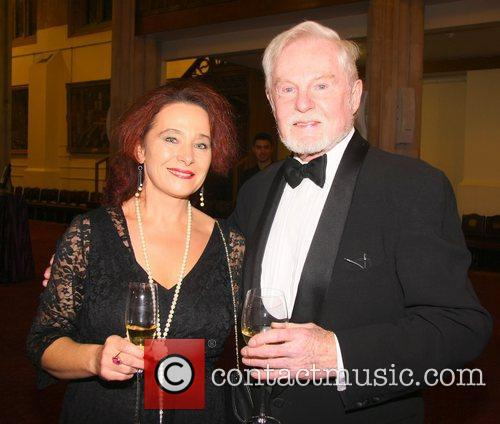 Irena Chomko and Derek Jacobi 2