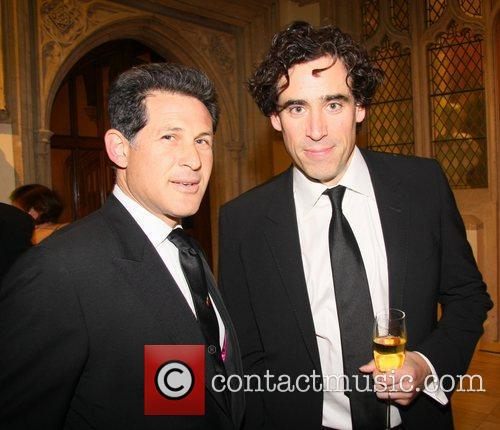Josh Berger, Warner Bros, President and Stephen Mangan