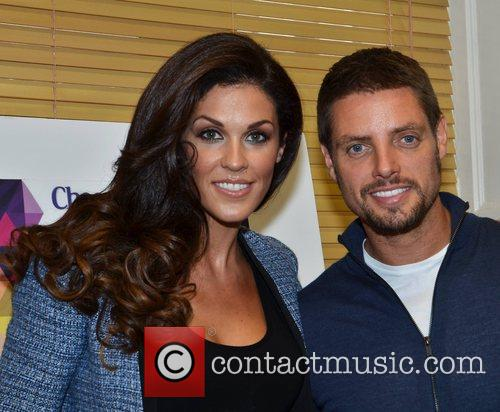 Cheerios Childline Concert 2012 presenters Keith Duffy and...