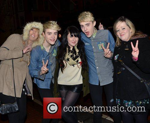 Cheerios Childline Concert 2012 afterparty at Lillies Bordello