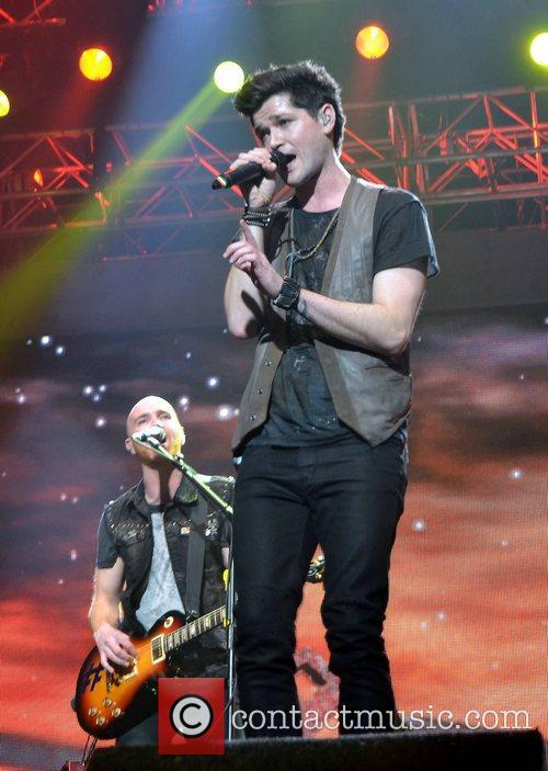 Danny O'Donoghue and Mark Sheehan of The Script...