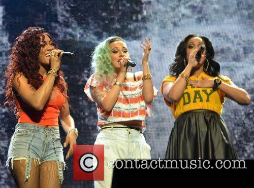 Karis Anderson, Courtney Rumbold, Alexandra Buggs and Stooshe