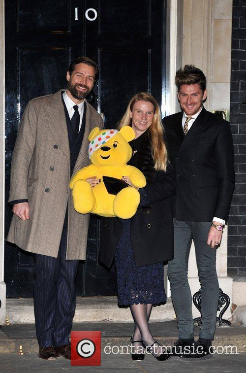 Henry Holland (R) and guests Children In Need...