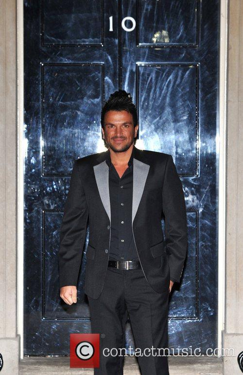 Peter Andre Children In Need - drinks reception...