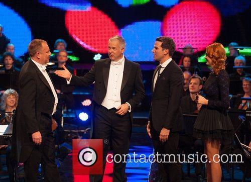 Derek Brockway, Jamie Owen, Sophie Evans and Gethin...