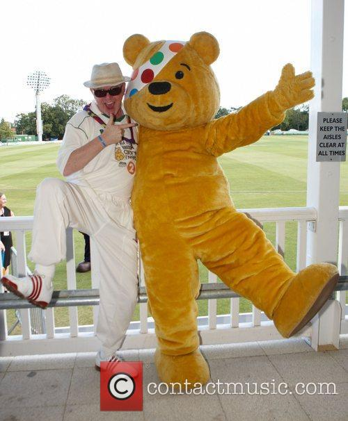 Chris Evans and Pudsey Bear The Chris Evans...