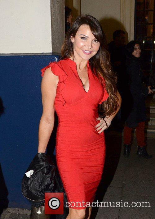 Lizzie Cundy attends the Children in Need POP...