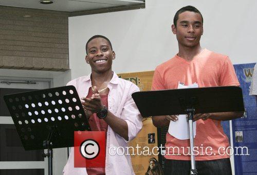 Carlon Jeffery and Zachary Isaiah Williams Celebration of...