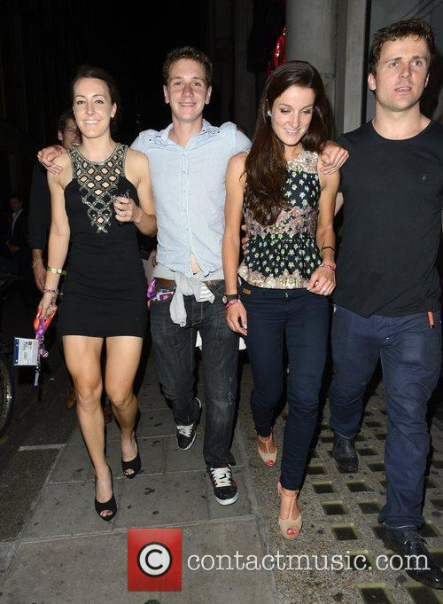 Enjoys a night out at Chinawhite club with...