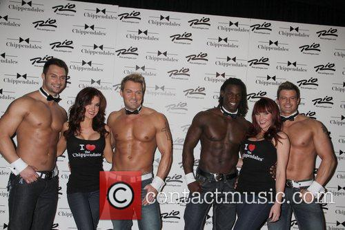 Chippendales Dancers and Chippendales Chicks Chippendales celebrate 10th...