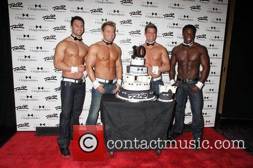 Chippendales Dancers Chippendales celebrate 10th Anniversary at The...
