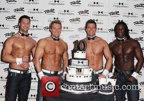 Chippendale Dancers Chippendales celebrate 10th Anniversary at The...