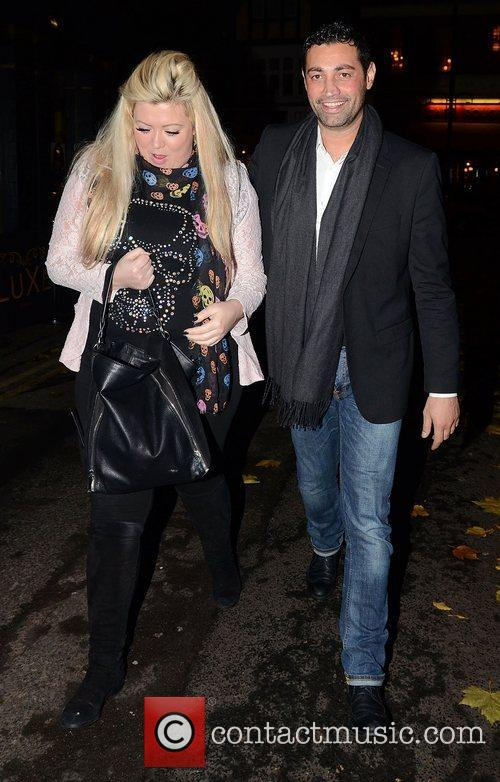 Gemma Collins,  at the launch of Chloe...