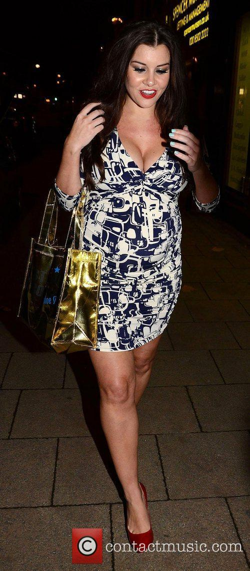 Imogen Thomas,  at the launch of Chloe...