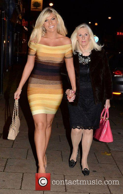 Frankie Essex,  at the launch of Chloe...