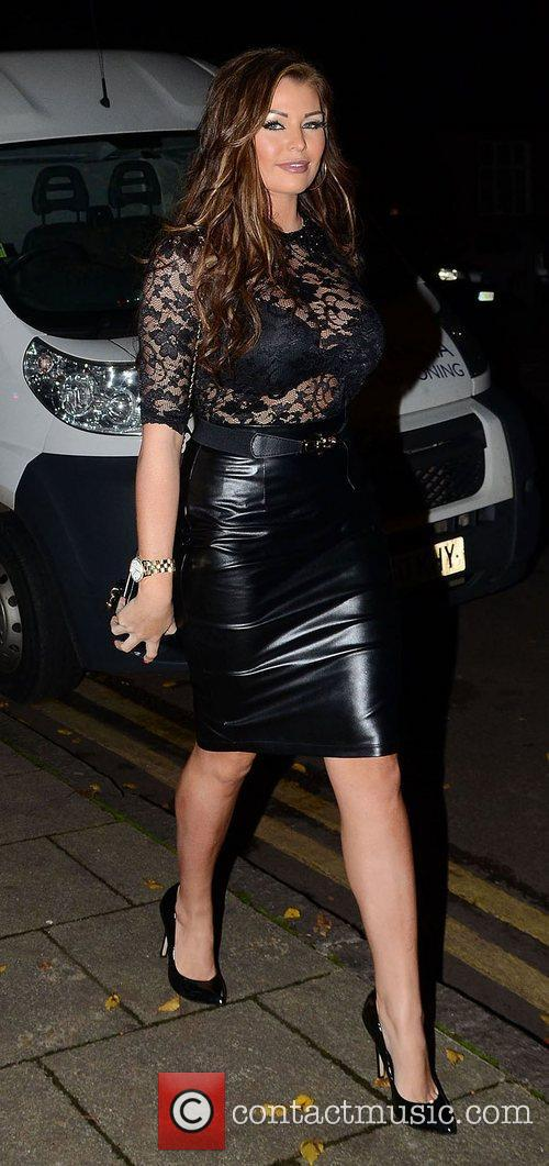 Jessica Wright,  at the launch of Chloe...