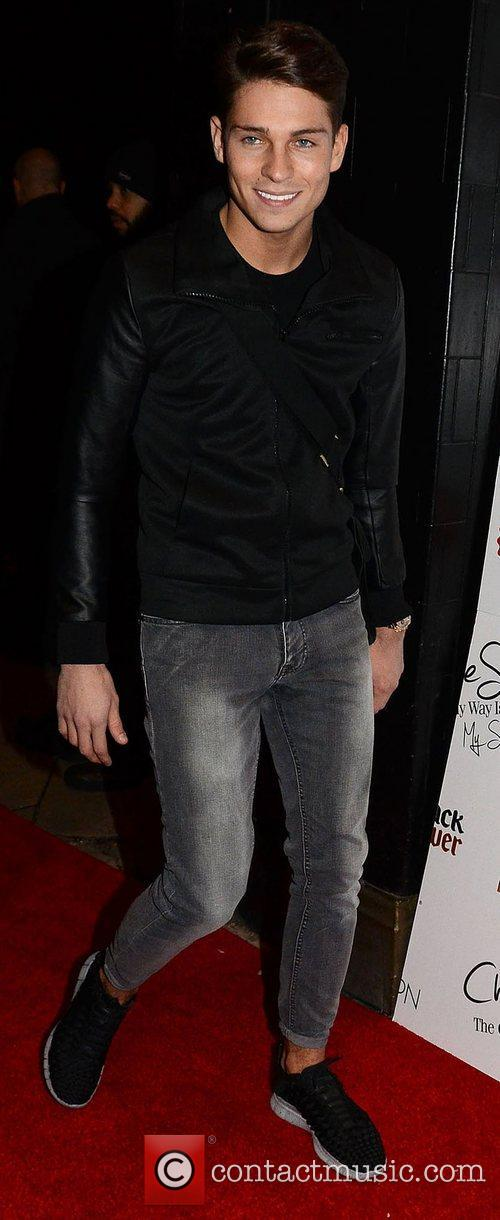 Joey Essex,  at the launch of Chloe...