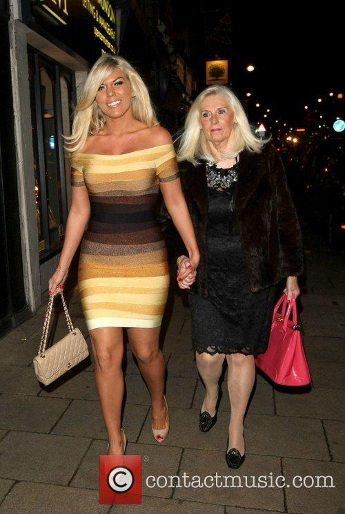 Frankie Essex The launch of Chloe Sims book...