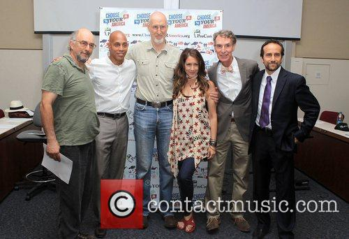 Richard Schiff, Bill Nye, James Cromwell, Joely Fisher, Ray Charles and Richard Greene