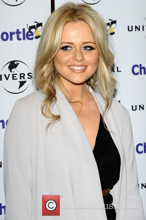 Emily Atack and Cafe De Paris 2