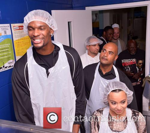 Chris Bosh, Adrienne Bosh, Team Tomorrow Inc, Chapman Partnership, Miami and Thanksgiving 23