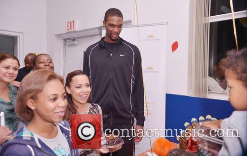 Chris Bosh, Adrienne Bosh, Team Tomorrow Inc, Chapman Partnership, Miami and Thanksgiving 2