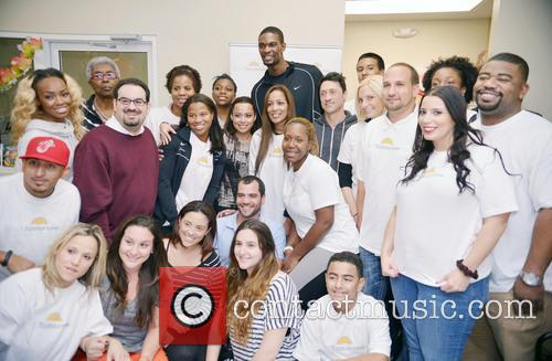 Chris Bosh, Adrienne Bosh, Team Tomorrow Inc, Chapman Partnership, Miami and Thanksgiving 3