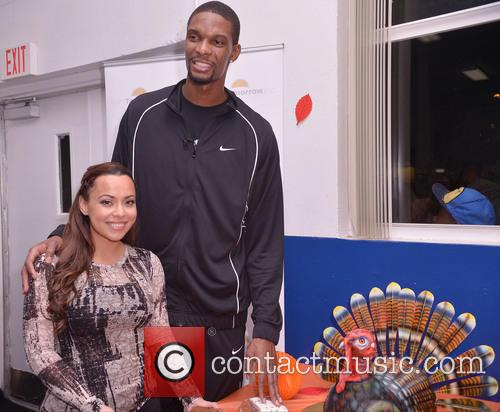 Chris Bosh, Adrienne Bosh, Team Tomorrow Inc, Chapman Partnership, Miami and Thanksgiving 22