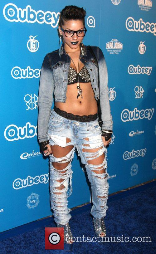 Karma Qubeeys Chris Brown channel launch at a...