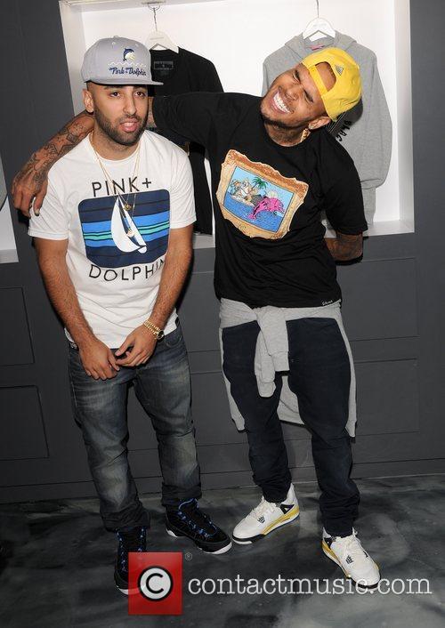 Neima Khaila and Chris Brown 4