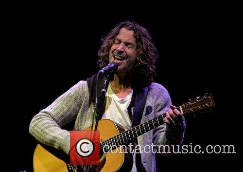 Chris Cornell performing at Manchester Lowry