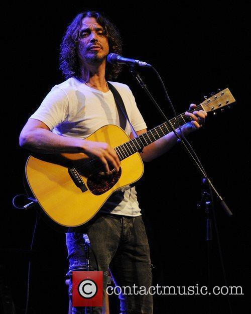 Chris Cornell performs live at The Fillmore Miami...